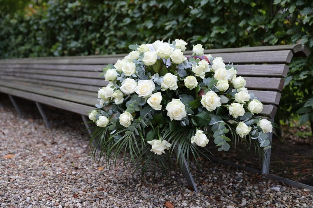 flowers in a cemetery. Without a power of attorney, you run the risk that your wishes will not be carried out.