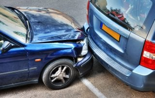 Car collision. Often, a person will not feel the effects of an injury immediately following a car accident.