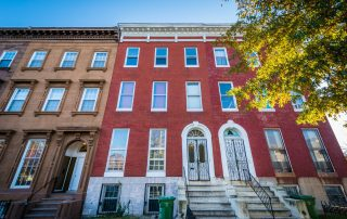 Baltimore rowhouses are often subject to ground rent.